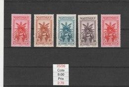 MARTINIQUE**LUXE N° TAXE 23/26 COTE 9.00 - Martinique (1886-1947)
