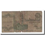 Billet, Égypte, 25 Piastres, Undated (1985-2007), KM:57b, B+ - Egypte