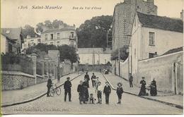 SAINT MAURICE (Val De Marne)  Rue Du Val D'Osne (belle Animation) - Saint Maurice