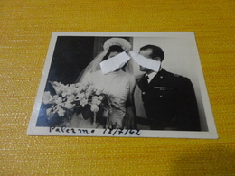 FOTOGRAFIA MILITARE PALERMO-1942-FORMATO PICCOLO - Guerra, Militari