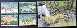 Mozambique 2002** Mi.2278-81 + Bl.137 Dinosaurs , MNH [6;25] - Briefmarken