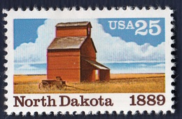 USA,1989- North Dakota Centenary. Full Issue. NewNH - United States