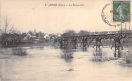 18 - LAPAN : La Passerelle - CPA Village ( 200 Habitants ) Cher ( Berry ) - France