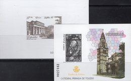 EXFILNA 1985 Spanien Block 28SD+Bl.143SD ** 100€ Prado-Museum Madrid Blocs Christmas Philatelic Ss Sheets Bf Espana - Probe- Und Nachdrucke