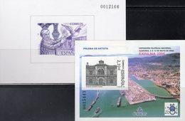 EXFILNA 1986 Spanien Block 29SD+Bl.149SD ** 90€ Moschee Cordoba Algeciras Architectur Blocs Philatelic Sheet Espana - Probe- Und Nachdrucke