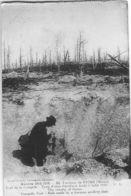 60. Environs De REIMS (Marne)- Fort De La Pompelle - Trou D'obus D'artillerie Boche ( Cliché 1918) - Guerra 1914-18