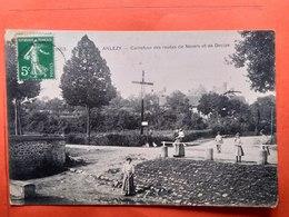 CPA (58) Anzely.Carrefour Des Routes De Nevers Et De Decize. (N.1119) - France