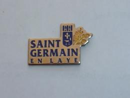 Pin's VILLE DE SAINT GERMAIN EN LAYE - Steden