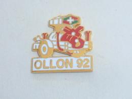 Pin's VILLE DE OLLON, 92 - Städte