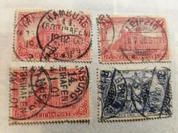 """German Empire  1900 Inscription """"Reichspost"""" - Allemagne"""