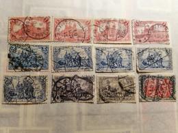 """German Empire  1902 Local Motifs - Inscription """"DEUTSCHES REICH"""" - - Allemagne"""