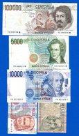 Italie  5  Billets - Zonder Classificatie