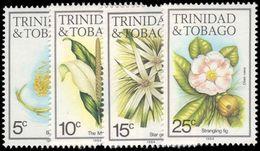 Trinidad & Tobago 1983-84 Flowers 1984 Imprint Set Unmounted Mint. - Trinidad En Tobago (1962-...)