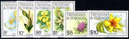 Trinidad & Tobago 1985 Flowers 1985 Imprint Set Unmounted Mint. - Trinidad En Tobago (1962-...)