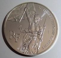 RARE - ESSAI De 100 Francs Bicentenaire Du Louvre 1993 - Commémoratives