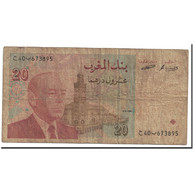 Billet, Maroc, 20 Dirhams, Undated (1996), KM:67a, TB - Marokko