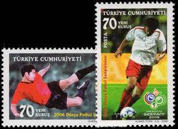 Turkey 2006 World Cup Football Unmounted Mint. - 1921-... République