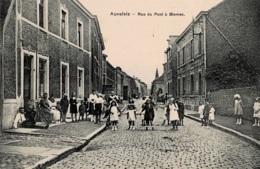 Auvelais Rue Du à Biesmes  Circulée En 1924 - Sambreville
