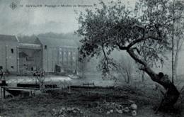 Auvelais Paysage Et Moulins De Grogneaux Ed;. S.B.P. Circulée En 1908 - Sambreville