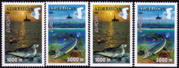 Azerbaïdjan - Europa CEPT 2001 - Yvert Nr. 417/418 A/b - Michel Nr. 494/495 A/D  ** - Europa-CEPT