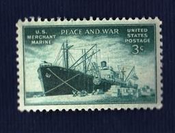 USA,1946- U.S. Merchant Marine, Peace And War. NewNH - United States