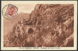 AFRICA ERITREA  FERROVIA MASSAUA  ASMARA Railway Railroad  Ferroviaria Old Postcard (see Sales Conditions) 00035 - Merano