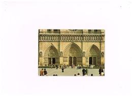 Les Portails.Expédié à Eu (Seine Maritime) - Notre Dame De Paris
