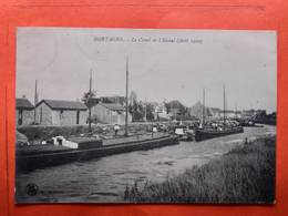 CPA (59) Mortagne. Le Canal De L'Escaut. Péniches (N.1146) - Altri Comuni