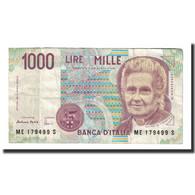 Billet, Italie, 1000 Lire, 1990-1994, KM:114c, TTB - [ 2] 1946-… : Repubblica
