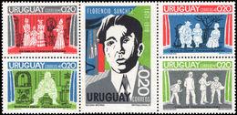 Uruguay 1975 Florencio Sanchez Unmounted Mint. - Uruguay