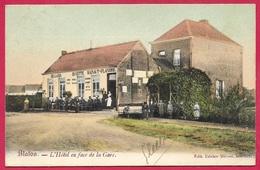 CPA Belgique Belgie BLATON (Bernissart) - L' Hôtel En Face De La Gare (Buvette Hainaut-Flandre) ° Edit Trivier Milisse - Bernissart