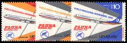 Uruguay 1981 Pluna Airlines Unmounted Mint. - Uruguay
