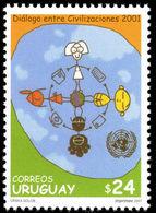 Uruguay 2001 Dialogue Of Civilisations Unmounted Mint. - Uruguay