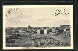 AK Deir Ezzor, Panorama De La Ville - Syria