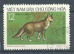 Vietnam Du Nord YT N°786 Cuon Alpinus Oblitéré ° - Vietnam