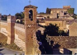 Gradara - Mura Di Cinta E Castello Di Paola E Francesca Da Rimini - Formato Grande Viaggiata – E 15 - Italien