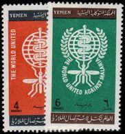 Yemen 1962 Malaria Eradication Unmounted Mint. - Yemen