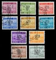 GUERNSEY PORTOMARKEN Nr 8-14 Gestempelt X871432 - Guernesey
