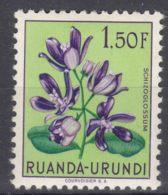 Ruanda-Urundi 1953 Flowers Mi#143 Mint Hinged - 1948-61: Ungebraucht