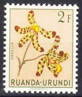 Ruanda-Urundi 1953 Flowers Mi#144 Mint Hinged - 1948-61: Ungebraucht