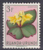 Ruanda-Urundi 1953 Flowers Mi#145 Mint Hinged - 1948-61: Ungebraucht