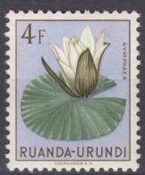 Ruanda-Urundi 1953 Flowers Mi#146 Mint Hinged - 1948-61: Ungebraucht