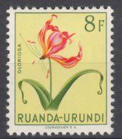 Ruanda-Urundi 1953 Flowers Mi#149 Mint Hinged - 1948-61: Ungebraucht