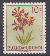 Ruanda-Urundi 1953 Flowers Mi#150 Mint Hinged - 1948-61: Ungebraucht