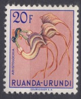 Ruanda-Urundi 1953 Flowers Mi#151 Mint Hinged - 1948-61: Ungebraucht