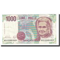 Billet, Italie, 1000 Lire, 1990, 1990-10-03, KM:114a, SUP - [ 2] 1946-… : Repubblica