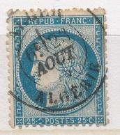 N°60 NUANCE ET OBLITERATION - 1871-1875 Ceres