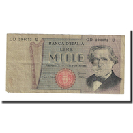 Billet, Italie, 1000 Lire, 1969-1981, KM:101g, TB+ - [ 2] 1946-… : Repubblica