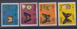 Somalia 1970 Butterflies Mi#155-158 Mint Hinged - Somalia (1960-...)