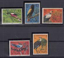 Somalia 1966 Birds Mi#84-88 Mint Never Hinged - Somalia (1960-...)